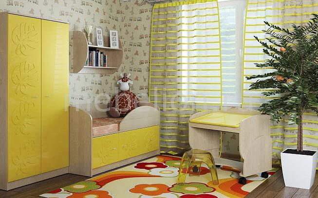 Комод детский Компасс-мебель KOM_Maugli_system_8 от Mebelion.ru
