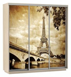 Шкаф-купе Экспресс Фото Трио Париж 1800x600x2200