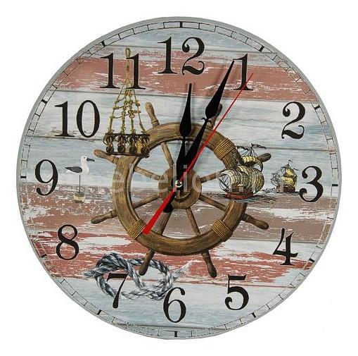 Настенные часы Акита (40 см) Якорь C40-7 цена и фото