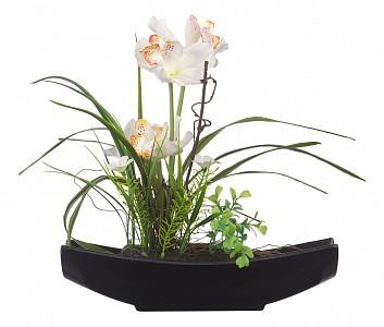Растение в горшке (33.5 см) Орхидея в ладье YW-31