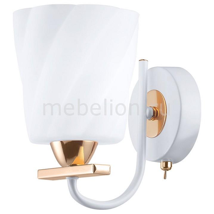 Бра IDLamp ID_380_1A-Whitegold от Mebelion.ru