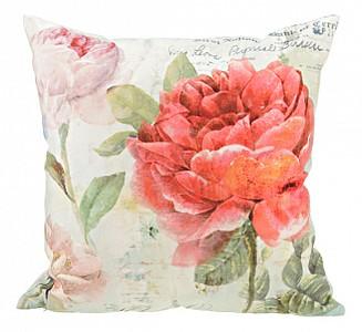 Подушка декоративная (45х45 см) Цветы 703-694-09