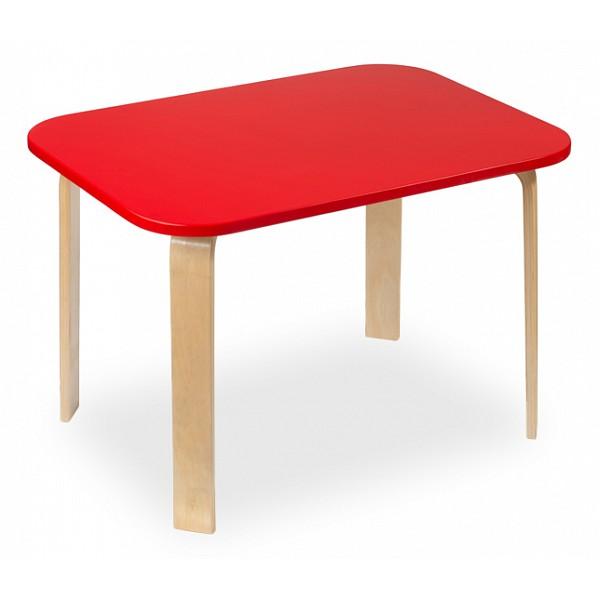 Стол Мордочки красный