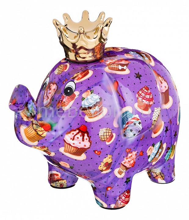 Копилка АРТИ-М (23x14x20 см) Слон 737-092 ель новогодняя с елочными шарами арти м 16 см art 594 092