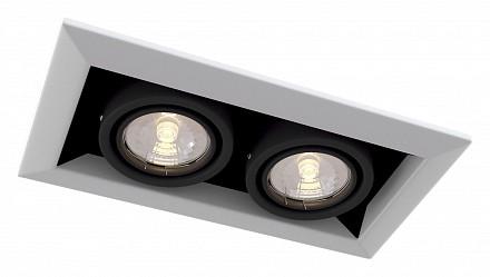 Встраиваемый светильник Metal DL008-2-02-W