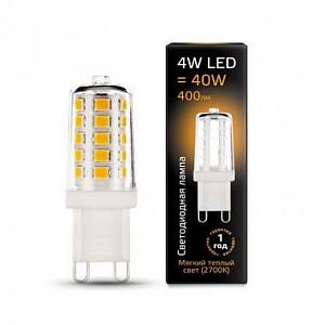 Лампа светодиодная 1073 G9 185-265В 4Вт 2700K 107309104