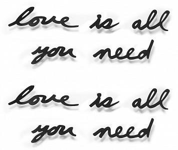 Панно (33.3х41.3 см) Love is all you need 470580-040