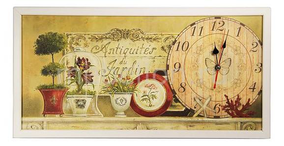 Настенные часы Акита (60х30 см) AKI 3060-4W цена и фото