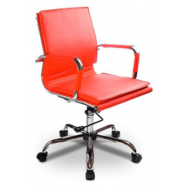Кресло компьютерное Бюрократ CH-993-low красное BUR_CH-993low_red