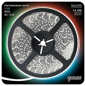 Лента светодиодная Gauss 312000414