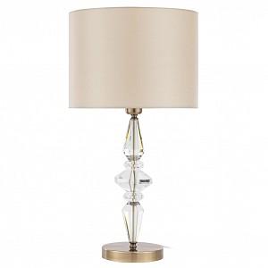 Лампа настольная с абажуром Monte Carlo MY_DIA091TL-01BZ