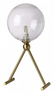 Настольная лампа декоративная ANDRES LG1 BRONZE/TRANSPARENTE