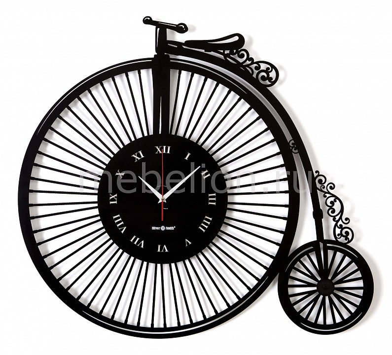 Настенные часы Silver Smith (78.9х71.5 см) RETRO BICYCLE 04008bk0