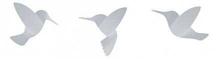 Набор из 9 фигур настенных (12.7x2.6x9.9 см) Hummingbird 1012966-660