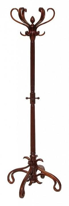 Вешалка-стойка В-4Н темно-коричневая