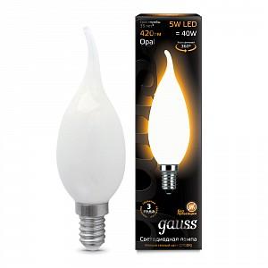 Лампа светодиодная 1042 E14 150-265В 5Вт 2700K 104201105