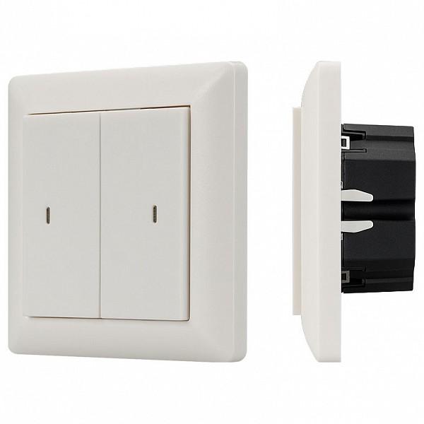 Диммер клавишный Knob SR-KN0200-IN White (KNX, DIM) Arlight  (ARLT_023845)