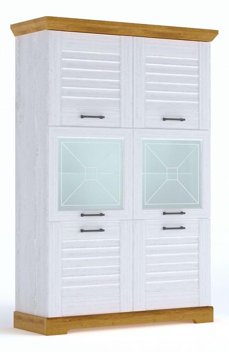 Шкаф-витрина Кантри
