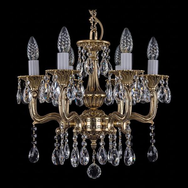 Подвесная люстра 1704/6/UP125IV/A/GB Bohemia Ivele Crystal 1704/6/110/A/GB  (BI_1704_6_110_A_GB), Чехия
