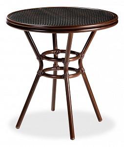 Стол обеденный Патонг Glass Rattan