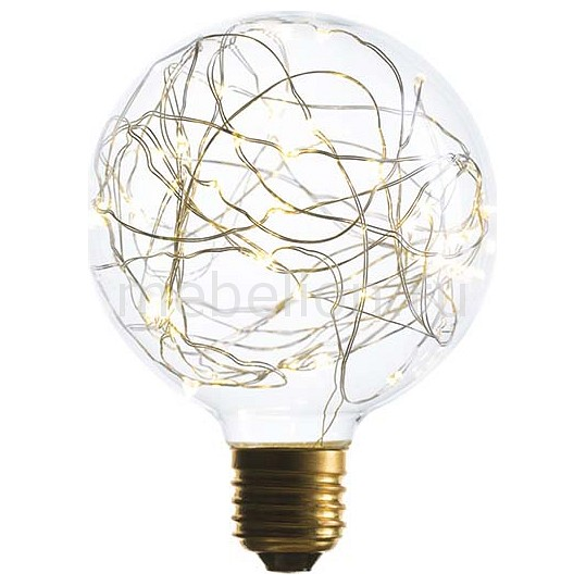 Лампа светодиодная G95 E27 1.5Вт 240В 2200K 057-066
