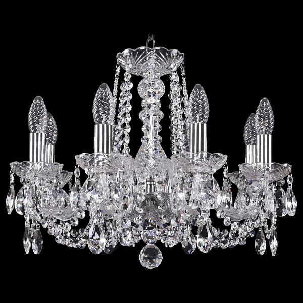 Подвесная люстра 1402/8/160/Ni Bohemia Ivele Crystal  (BI_1402_8_160_Ni), Чехия