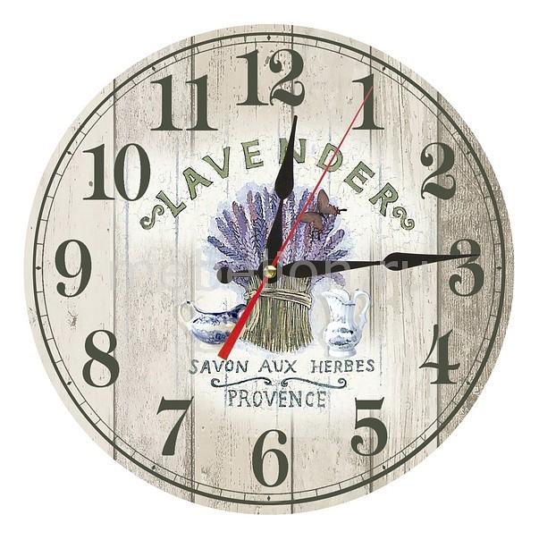 Фото Настенные часы Акита (30 см) Lavender AC04