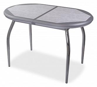 Стол обеденный Шарди О с плиткой и мозаикой