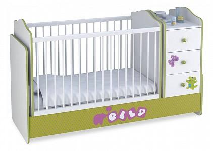 Детская кровать Polini kids Basic Elly TPL_0001185-3