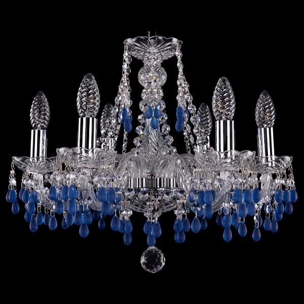 Подвесная люстра 1410/6/160/Ni/V3001 Bohemia Ivele Crystal  (BI_1410_6_160_Ni_V3001), Чехия