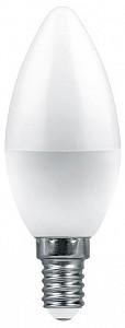 Лампа светодиодная [LED] Feron E14 7.5W 6400K