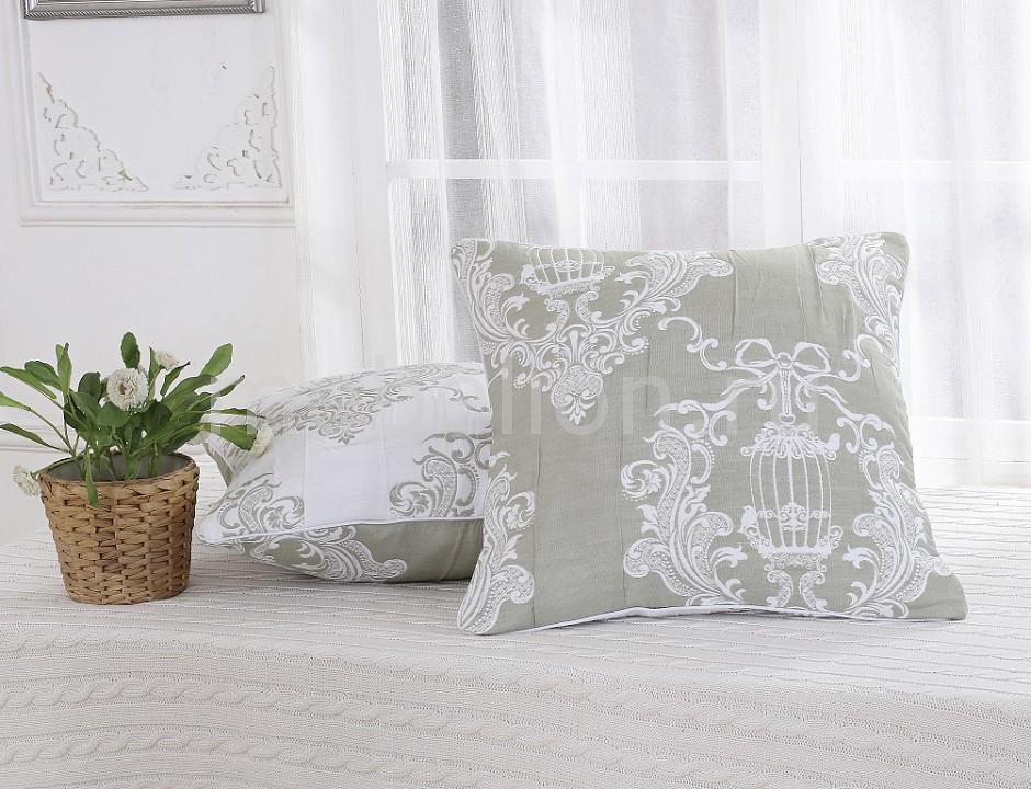 Наволочка для декоративных подушек CLEO CLE_45_001_2-BR от Mebelion.ru