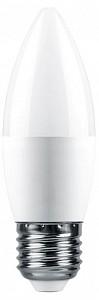 Лампа светодиодная [LED] Feron E27 9W 4000K