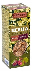 Щепа для копчения (1 л) Ольха-Вишня 61528