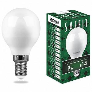 Лампа светодиодная SBG4509 E14 220В 9Вт 6400K 55125