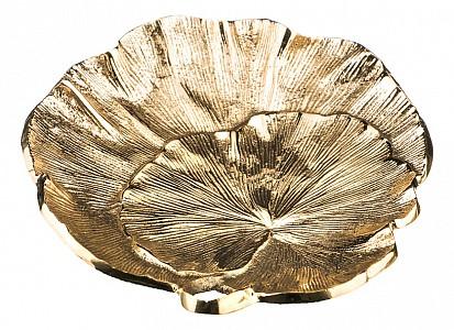Блюдо декоративное (12х11 см) Листок 877-328