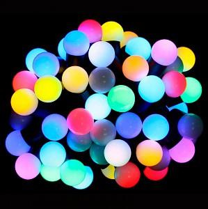 Гирлянда Супернить (7.5 м) RL-T7.5-50C-23B-B/RGB