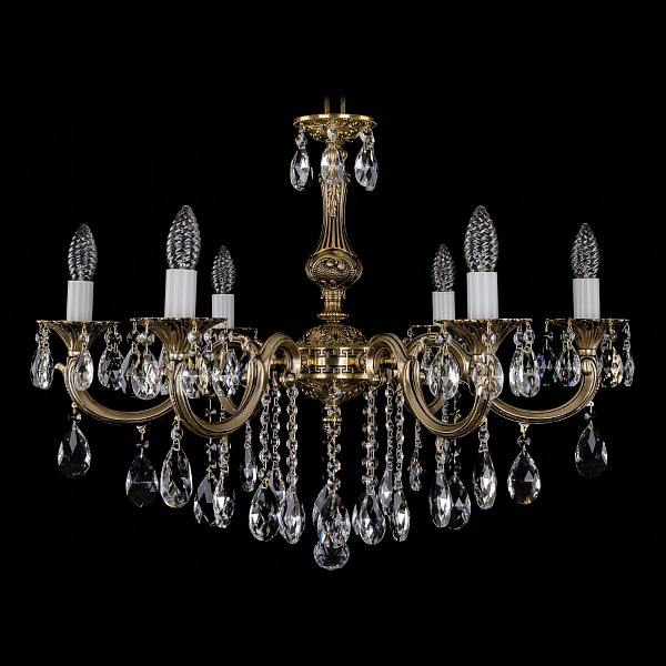 Подвесная люстра 1702/6/250/B/GB Bohemia Ivele Crystal 1702/6/B/GB  (BI_1702_6_B_GB), Чехия