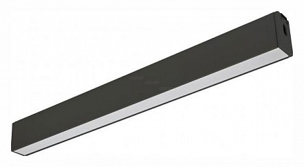 Модульный светильник CLIP-38-FLAT-S612-12W Warm3000 (BK, 110 deg, 24V) 028944