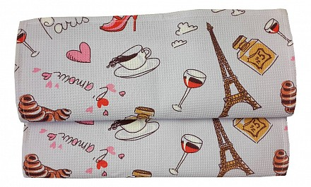 Полотенце для кухни Париж
