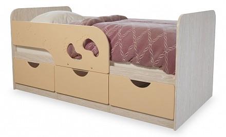 Односпальная кровать в детскую комнату Минима BTS_T0020789