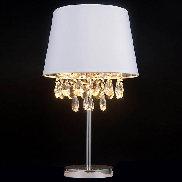 Настольная лампа декоративная 81010 DIAMOND SPACE 81010-2T CHROME