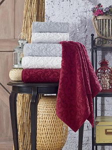 Набор из 3 банных полотенец Cotton Piramid
