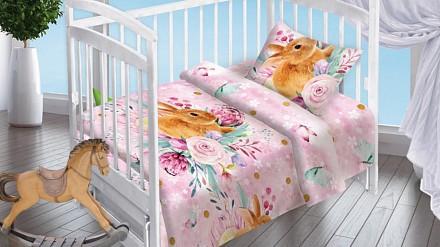 Комплект постельного белья Весенний зайка DTX_16163-439
