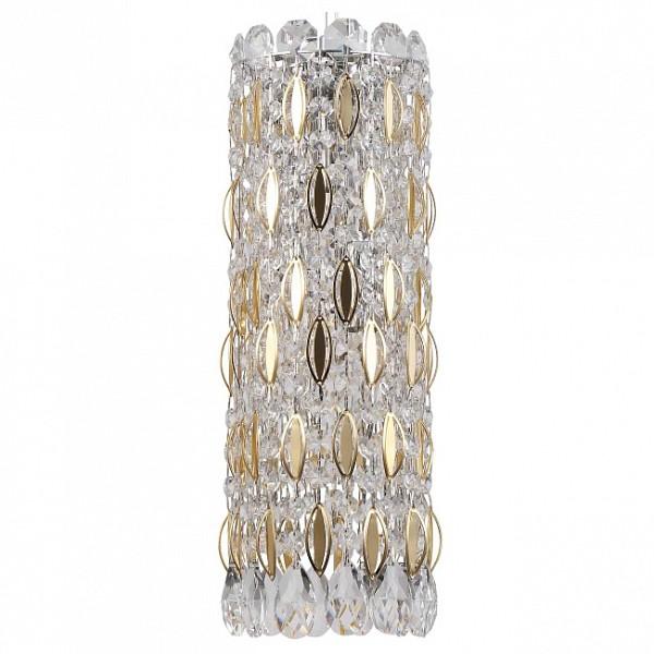 Подвесной светильник Lirica SP3 CHROME/GOLD-TRANSPARENT Crystal Lux CU_2201_203