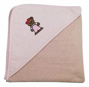 Полотенце детское (70x70 см) Медвеженок
