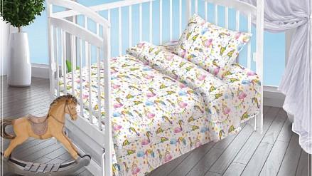 Детский комплект постельного белья 13033