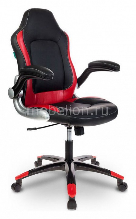 Кресло Игровое Viking-1/bl+Red