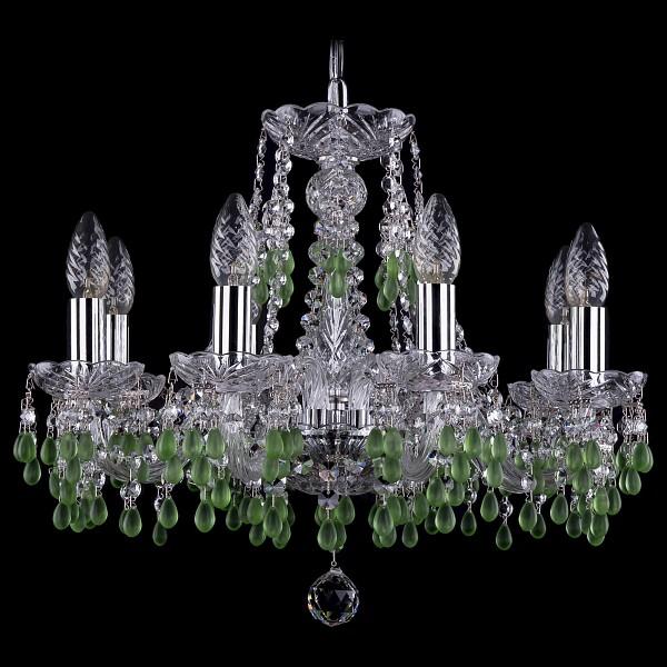 Подвесная люстра 1410/6/160/Ni/V5001 Bohemia Ivele Crystal  (BI_1410_6_160_Ni_V5001), Чехия
