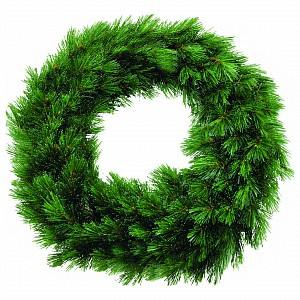 Венки хвойные [45 см] Лесная красавица зеленый 73690